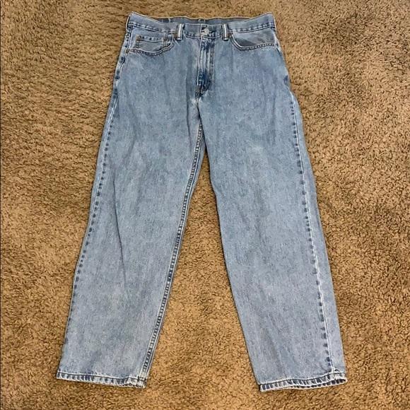 5ad0348c Levi's Jeans | Light Stonewash Levi 550 Mens | Poshmark